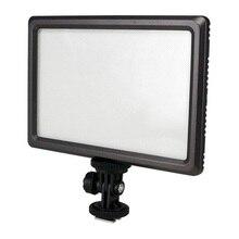 Meilleures Offres Luxpad22 Pro Ultra Mince 112-LED 11 W Vidéo Lumière Pad pour Canon Nikon DSLR Caméra DV Caméscope