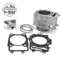 KUOQIAN Cylinder Block Cylinder Piston Gasket Kit for CFMOTO CF600 196s x6 z6 UTV ATV GO KART SPARE Parts 0600-023100