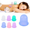 HOT!1pc Family Body Massage Helper Anti Cellulite Vacuum Silicone Cupping Cups Health Care