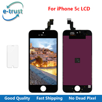 E Trust Good Quality For IPhone 5c LCD Screen With Touch Digitizer Display Assembly Replacement For