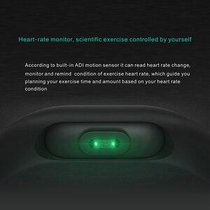 Image 4 - Banda Pulseira Smartband HORUG Inteligente Rastreador De Fitness Pulseira Inteligente Pulseira Pedômetro Esporte Heart Rate Monitor da Pressão Arterial