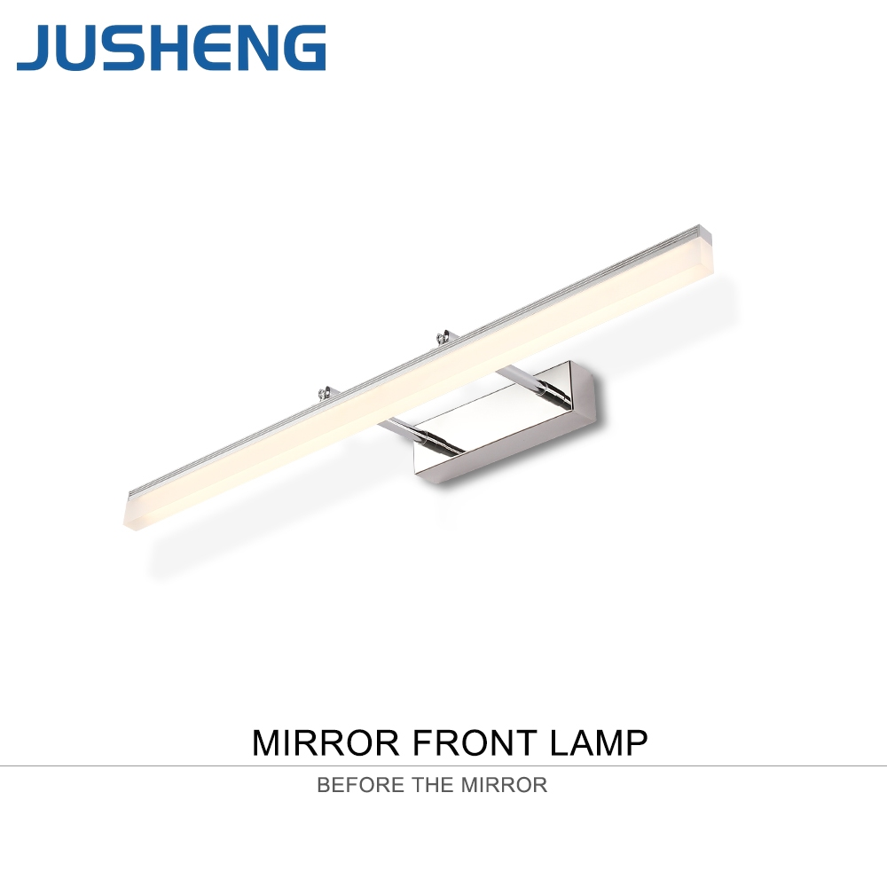 Wall Lamps Beautiful Makeup Mirror Led Light 6 10 14 Bulbs Kit 16w Led Wall Lamp Ac85-265v Washroom Dressing Table Make Up Lamp For Mirror Front Elegant Appearance