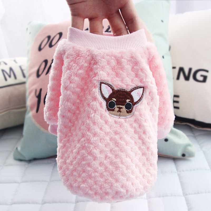 Cute Dog Hoodie Pet Dog Clothes For Dogs Coat Jacket Cotton Ropa Perro French Bulldog Clothing For Dogs Pets Clothing Pug