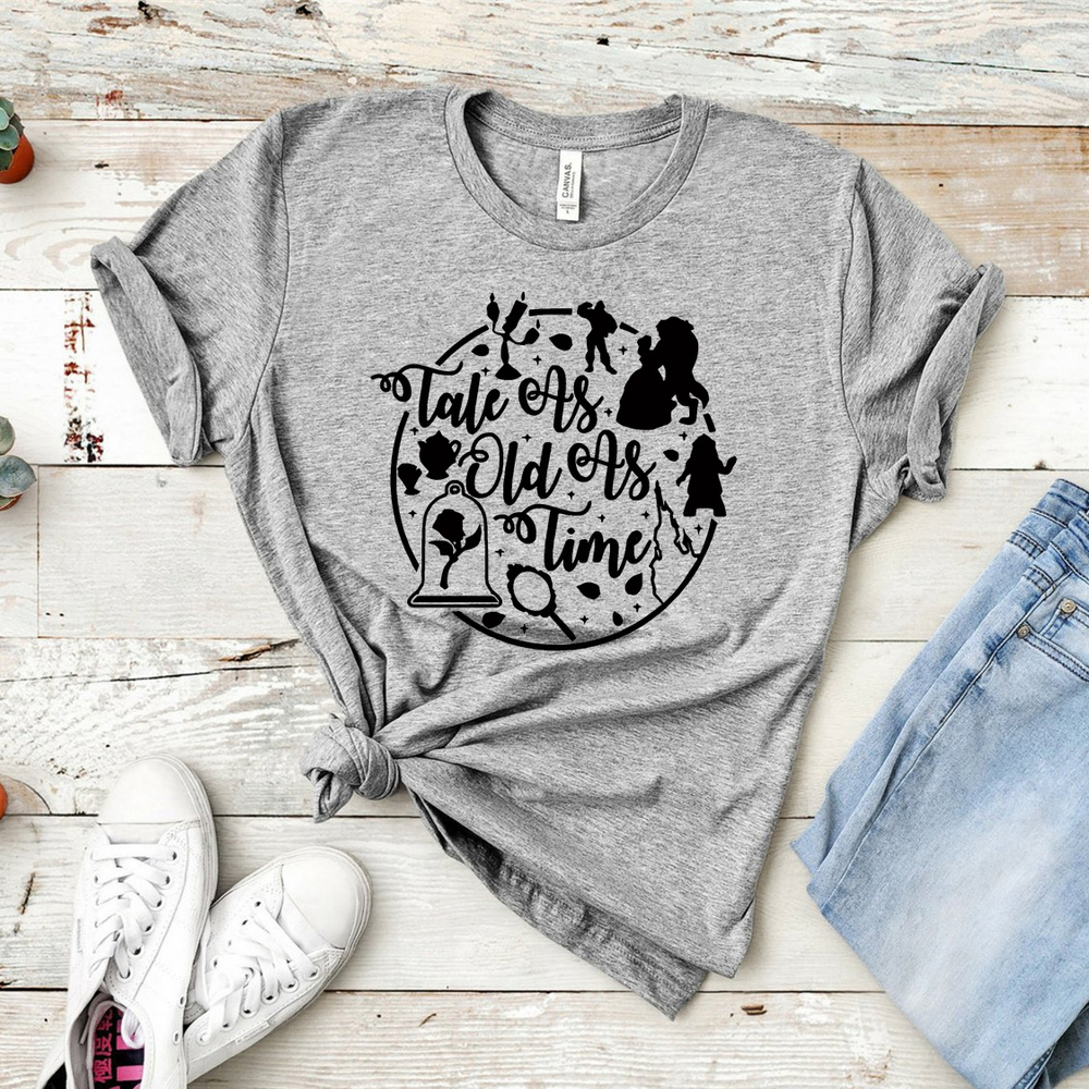 Camiseta La Bella y la Bestia 3