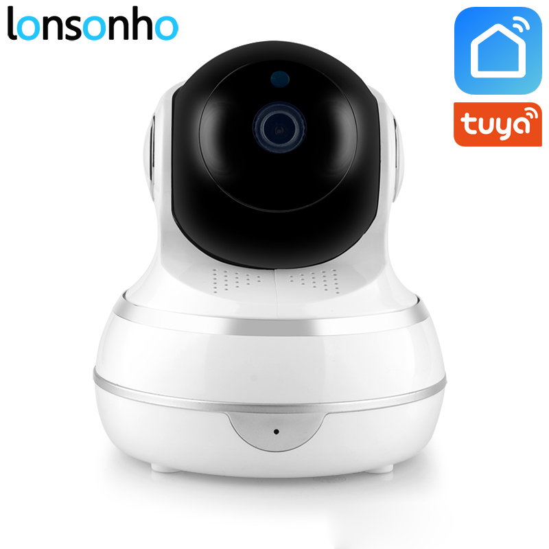 Lonsonho Smart Wifi IP Camera Wireless Home Security 1080P 2MP Two Way Audio Motion Detector IR Night Vision Tuya Smart Life APPLonsonho Smart Wifi IP Camera Wireless Home Security 1080P 2MP Two Way Audio Motion Detector IR Night Vision Tuya Smart Life APP