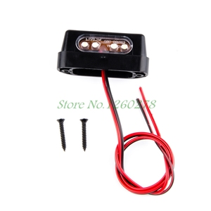Motorcycle White LED License P