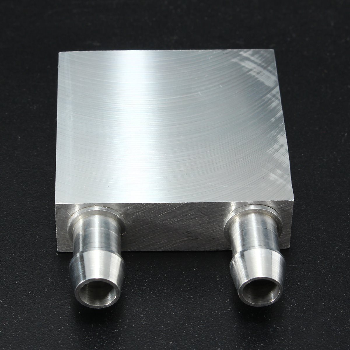 2018 Primary Aluminum Water Cooling Block 40*40mm for Liquid Water Cooler Heat Sink System Silver Use For PC Laptop CPU