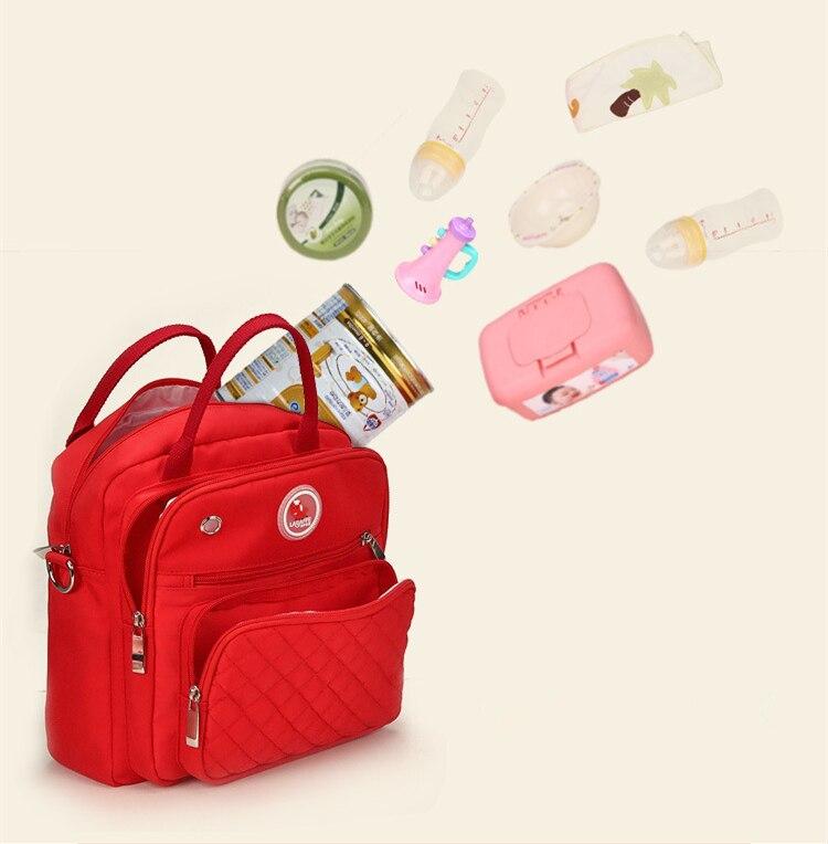 HTB1nasDklDH8KJjSszcq6zDTFXaH Mom Diaper Bag Waterproof Nylon Baby Nappy Bag Women Travel Backpakc for Baby Nursing Maternity Bag bolsa maternidade 4 Colors