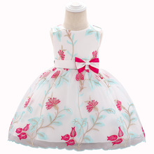2019 New Baby Girl Dress 1 Years Girls Birthday Embroidery Dresses Vestido Toddler 2 Party Princess