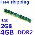 Marca new selado 4 GB/2 GB/1 GB ddr2 800 MHz PC2 6400 compatível com DDR2 800 mhz 667 MHz/533 MHz de memória Ram de Desktop