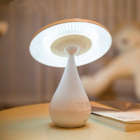 2016 New Arrive Elegant USB LED Anion Mushroom Vase 48 LED Lamp Intelligent Light Control Rotatable