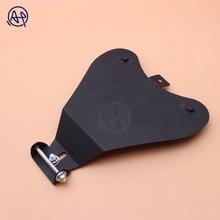 1set Black Motorcycle Solo Seat Baseplate Bracket Support Holder Mounting Kit Base Plate Brackets for Honda Yamaha Suzuki
