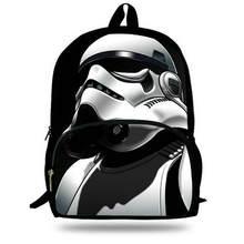 16-дюймовый популярных школьная сумка мультфильм Рюкзаки ребенок Звездные  Войны Рюкзак для детей Обувь для мальчиков Star Wars с. 1fc91851f49