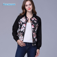 HUCOINHOW Women S Jackets College Students Sportwear Campus Popular Female Casual Coat Sports Bowling Jackets Printed