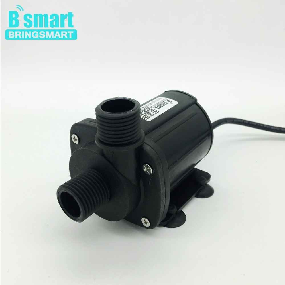 Free Shipping JT-1000B dc pump 12v 24V Brushless Booster Pump Low Noise For Water Heater Centrifugal Pump submersible Pump etc. bringsmart jt 280at 12v dc brushless submersible water pump 24v circulating computer cooling pumps free shipping