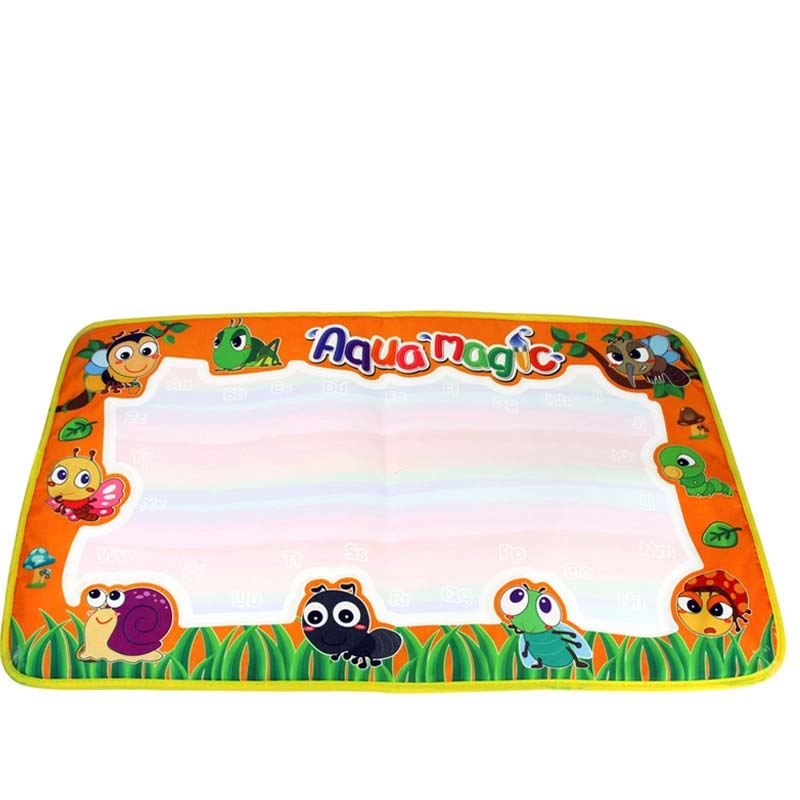 Drawing Toys Baby Kids Add Water with Magic Pen Doodle Painting Picture Soft Water Play Mat Board Gift Christmas 1 Mat+ 2 Pens