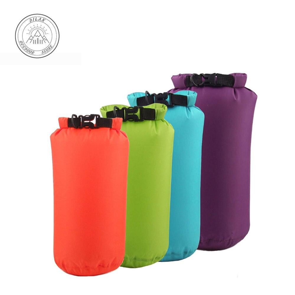 Anxi dérive en caoutchouc sac étanche en plein air portable étanche sac vessie interne de compression sac 15L De Natation comprimé sac d'eau
