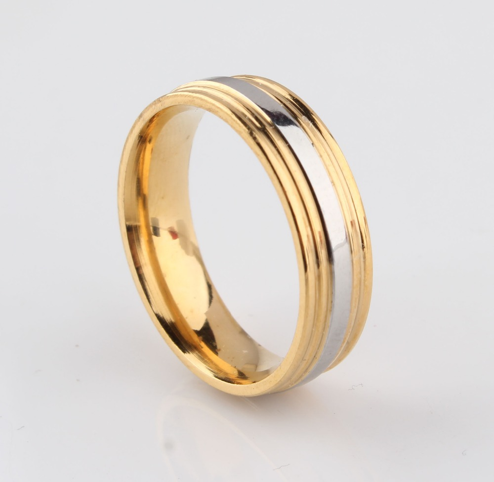 Aliexpresscom Buy Fashion heart ring his and her gold color