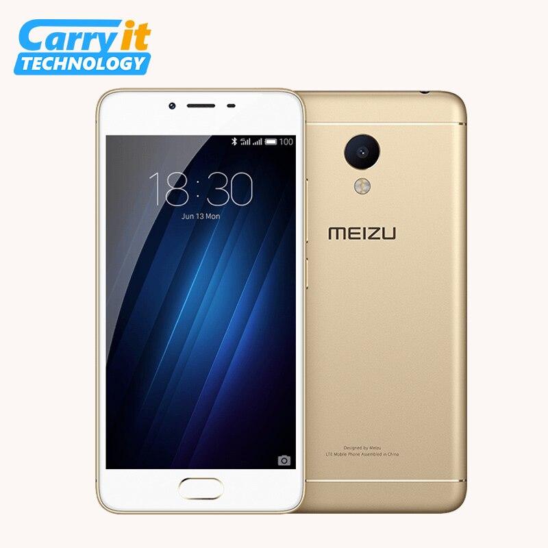 """bilder für Ursprüngliche Meizu M3s 2 GB 16 GB Handy Android MTK MT6750 Octa-core Metallgehäuse Fingerprint ID 5,0 """"13.0MP OTA Update Y685Q"""