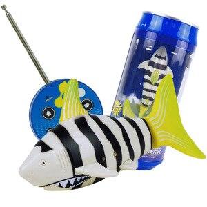 Image 3 - Mini requin RC télécommande, Simulation animale sous marin, jouets pour enfants, jeu de bain