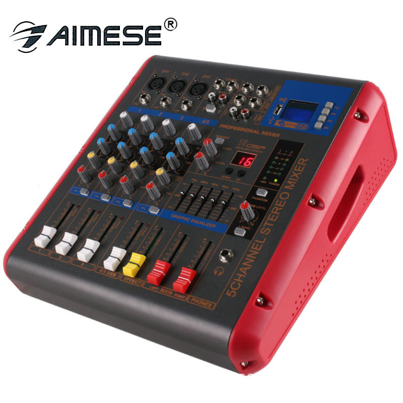 PMR506 4-Channel 250W*2  Amplifier Microphone Mixing Sound Console Power Mixer USB 48V Monitor 2 in 1 FunctionPMR506 4-Channel 250W*2  Amplifier Microphone Mixing Sound Console Power Mixer USB 48V Monitor 2 in 1 Function