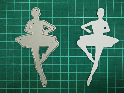 Ballet Metal Die Cutting Scrapbooking Embossing Dies Cut Stencils Decorative Cards DIY album Card Paper Card Maker m word hollow box metal die cutting scrapbooking embossing dies cut stencils decorative cards diy album card paper card maker