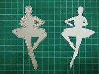 Ballet Metal Die Cutting Scrapbooking Embossing Dies Cut Stencils Decorative Cards DIY Album Card Paper Card