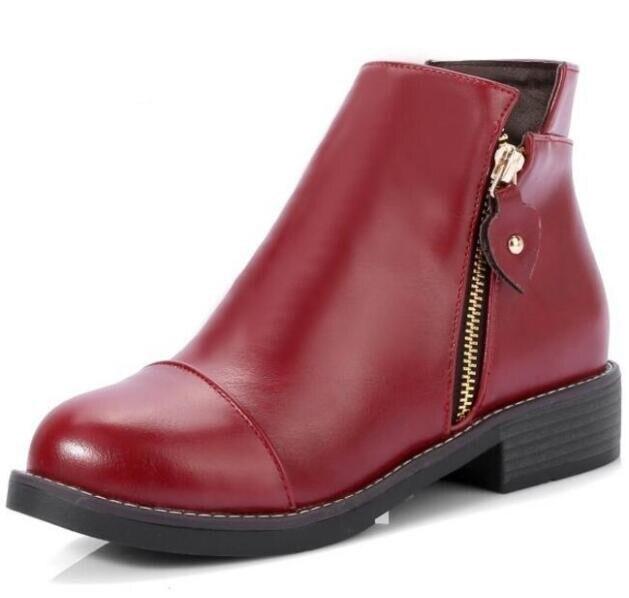 Zapatos Scarpe wine Feminino Signore Donna Martin Tacchi Stivali TqqndwzE