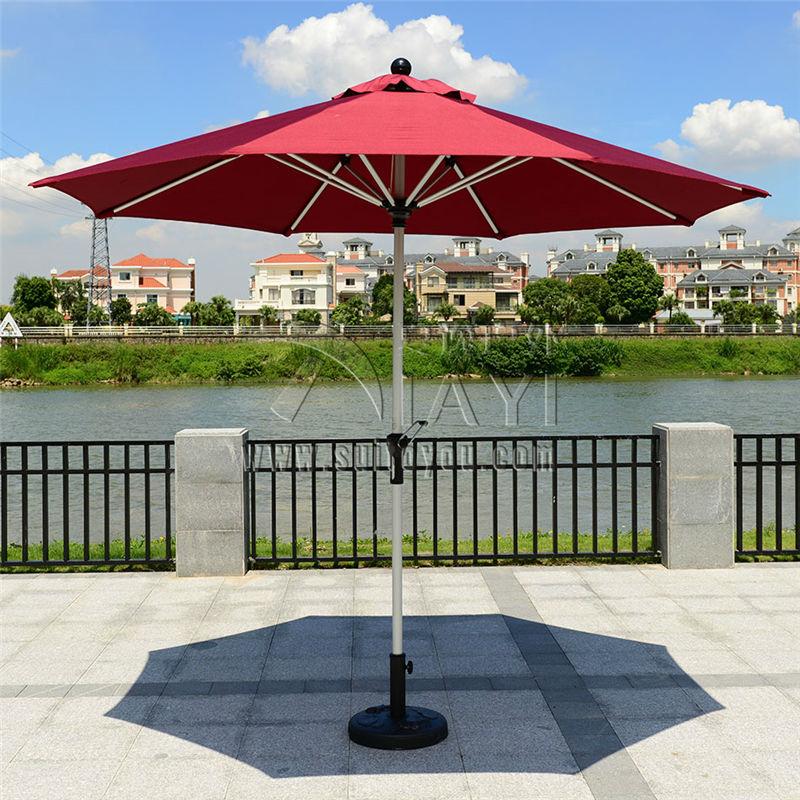 2.7 Meter Steel Iron Duplex Outdoor Beach Sun Umbrella