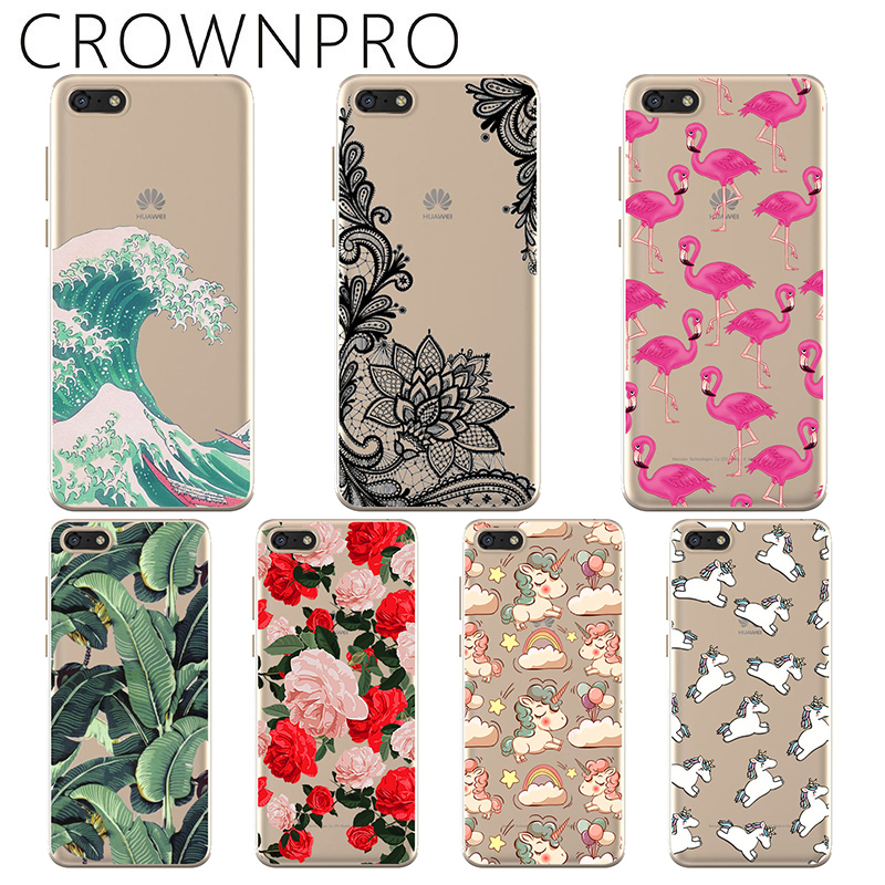 Huawei Y5 Prime Case Cover Soft Silicone TPU 5 45