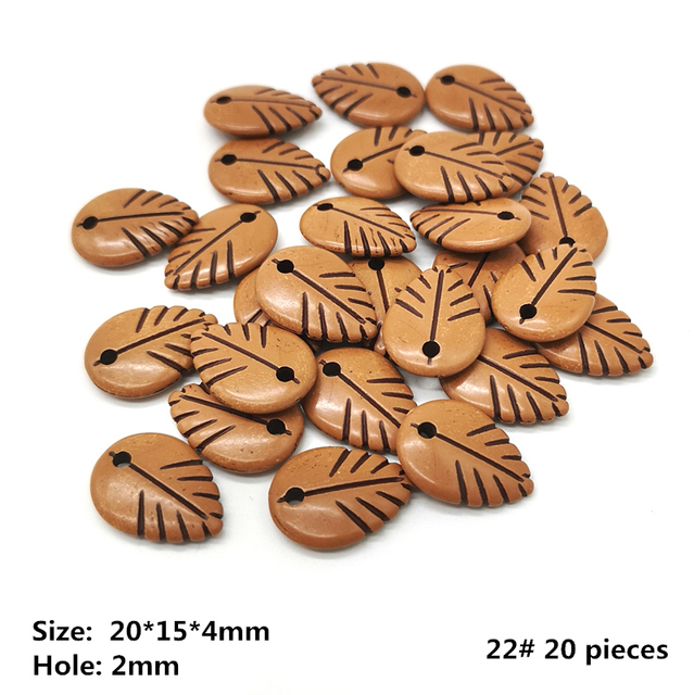 22 (20 pieces)