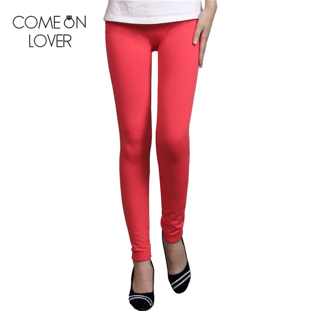 TE2332 New arrival solid leggings slimming wholesale and retail workout leggins comfortable casual style flocking leggings