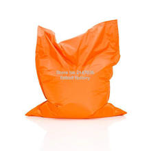 Orange Color outdoor bean bag chair — home furniture — beanbag sofa beds