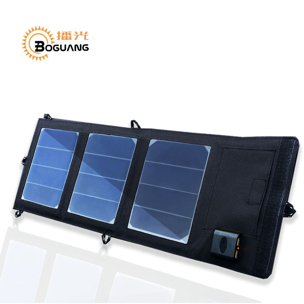 Xinpuguan solar panel power 12w 5V 2A Dual USB Output Folding Portable Foldable Power Bank bag Solar Charger for Smartphone