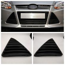Cafoucs передний бампер автомобиля Треугольники гриль для Ford Focus 3 решетка 2011 2012 2013 2014 bm51-17k946-ae/bm51-17k947-ae