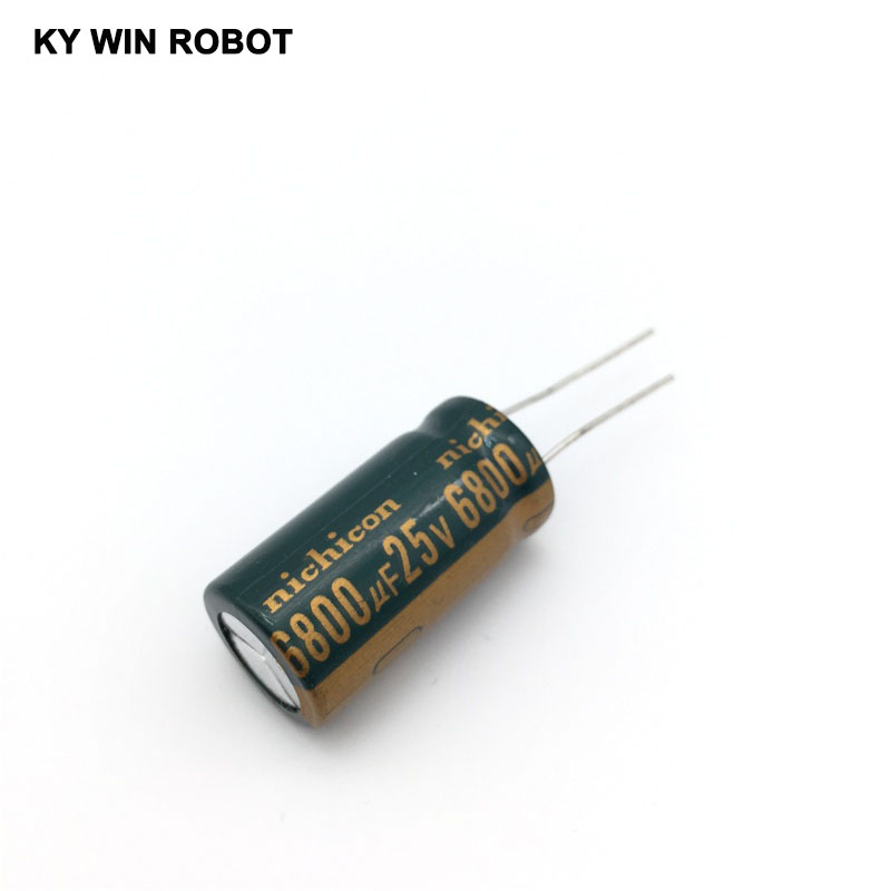 1PCS Electrolytic Capacitor 25V 6800UF 16 * 30 Aluminum Electrolytic Capacitors