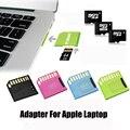 Aego leitor adaptador de cartão micro sd microsdhc/microsdxc adaptador usb 2.0 para apple macbook pro
