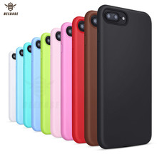 BEEBASE Shockproof Phone Case For iphone 6 6s 5 5s Cover 7 8 6S Plus Soft Silicon case
