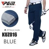 PGM New Autumn And Winter Golf Wear Men S Thick Fleece Warm Golf Pants High Quality