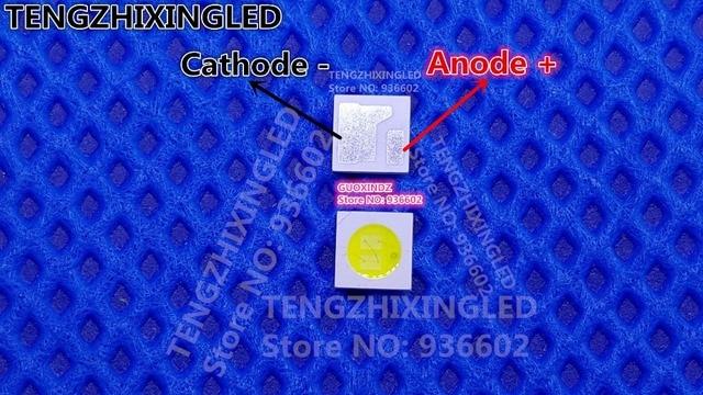 עבור LED LCD תאורה אחורית טלוויזיה יישום LED תאורה אחורית AOT 1.6W 6V 3030 125LM מגניב לבן LCD תאורה אחורית עבור טלוויזיה טלוויזיה יישום