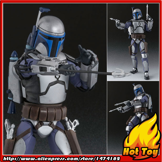 "100% Original BANDAI Tamashii Nations S.H.Figuarts (SHF) Action Figure - Jango Fett from ""SW"""