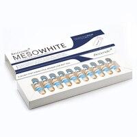 Корейский макияж набор 10 шт./компл. 5 мл BB светящийся крем для кожи Meso белый осветляющая сыворотка натуральная Обнаженная Палетка консилеров...