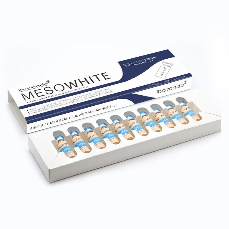 Korean Makeup Kit 10pcs/set 5ml BB Glow Skin Cream Meso White Brightening Serum Natural Nude Concealer Make Up CC Foundation
