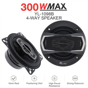 4 Inch 300W Full Range Frequency Hifi Speakers 2pcs 1