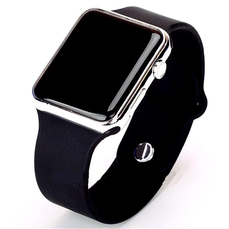 Sport Men Women Watches Led Ceasuri Clock Silicone Watch Fashion Casual Children Female Male Wristwatches Watch Gift Clock WOMAN