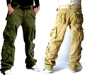 Nuevo 2014 mujer ropa de mujer de moda verde Cargo Pants Hip Hop danza Harem pantalones de chándal chicas Baggy Trousers Loose
