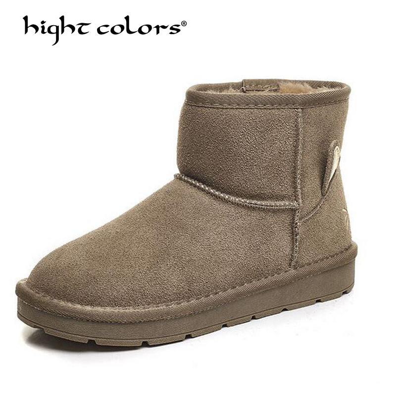 women Boots Winter warm down snow boots for women ankle Boots waterproof fashion Fur antiskid outdoor flat boots shoes