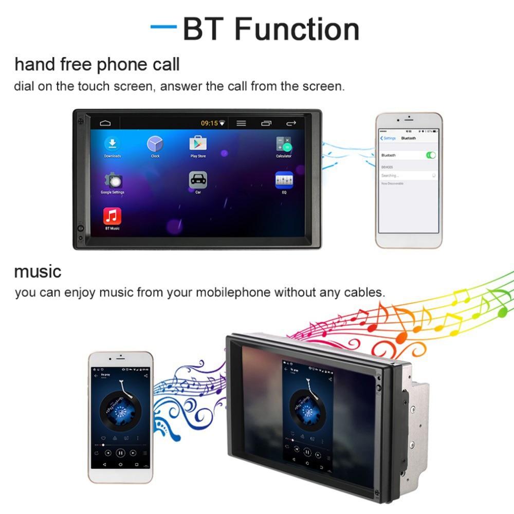 imágenes para 7 Pulgadas Android 5.1 HD LCD de Gran Pantalla Táctil de Coches DVD/MP5/MP3 Jugador de la Máquina de Navegación GPS sistema Reproductor Multimedia