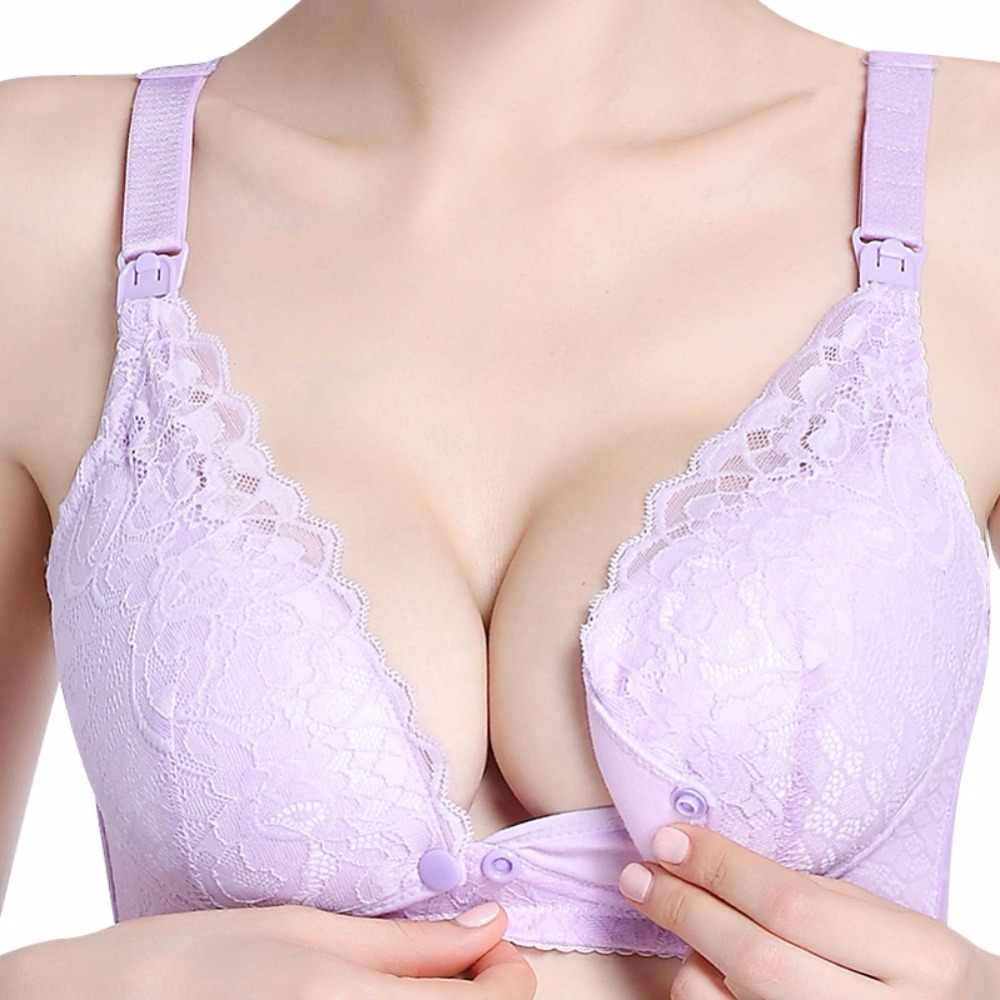 71c360551dd7d Pregnant Women Pregnancy Underwear Breast Feeding Bra Clothing  Breastfeeding Maternity Nursing Bras Cotton Sleep Bra for