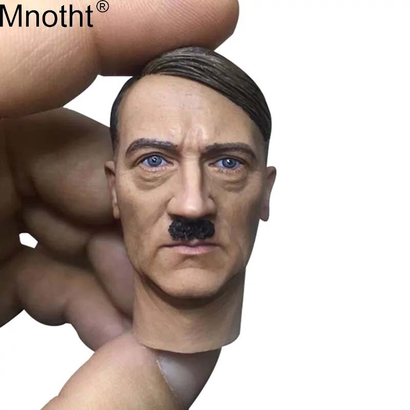 Mnotht 1/6 General Head Sculpt Model World War II Male Soldier Moustache Head Carvings Toy for 12in Action Figure Collection ma keith d dickson world war ii for dummies®